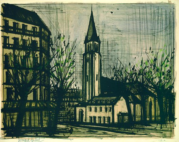 Bernard Buffet - Saint-Germain-Des-Prés