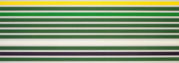 Kenneth Noland - Shadow-Line