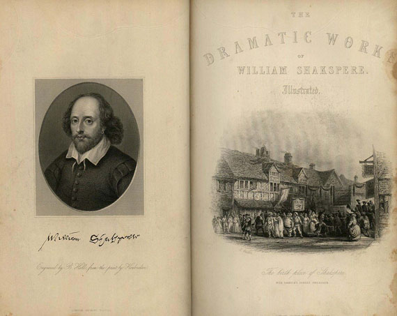 William Shakespeare - The dramatic works. 2 Bde.