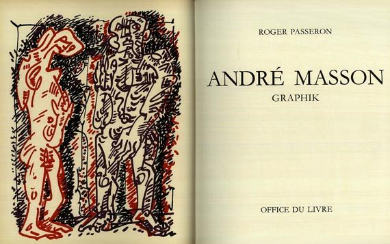 André Masson - Passeron, R., A. Masson Graphik., 1973.