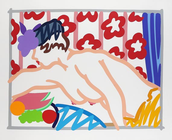 Tom Wesselmann - Judy reaching over table