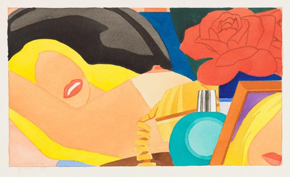 Tom Wesselmann - Study for Nude Lithograph