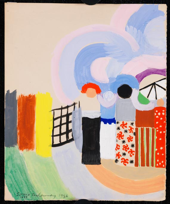 Sonia Delaunay-Terk - Projet pour Voyages lointains - Weitere Abbildung