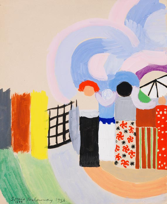 Sonia Delaunay-Terk - Projet pour Voyages lointains