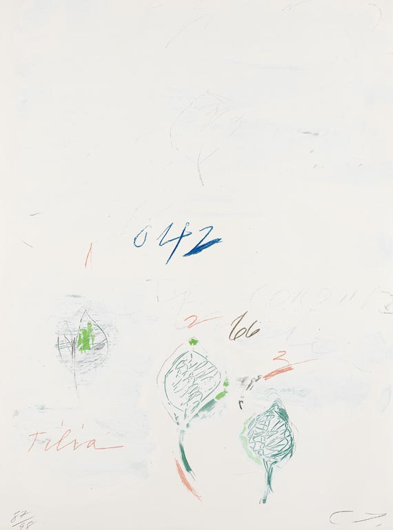 Cy Twombly - Natural History, Part II: Tilia Cordata