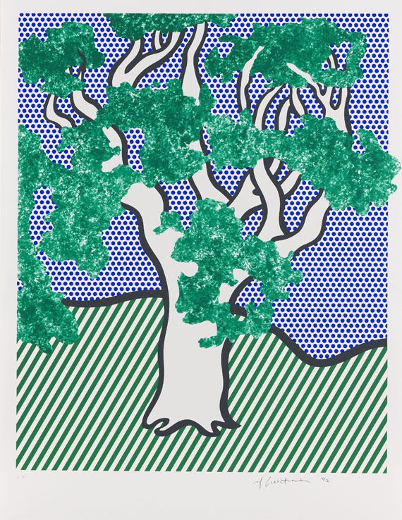Roy Lichtenstein - Rain Forest