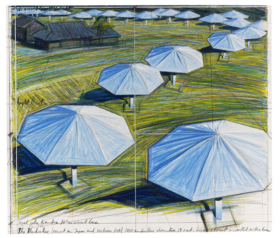 The Umbrellas...., 1986