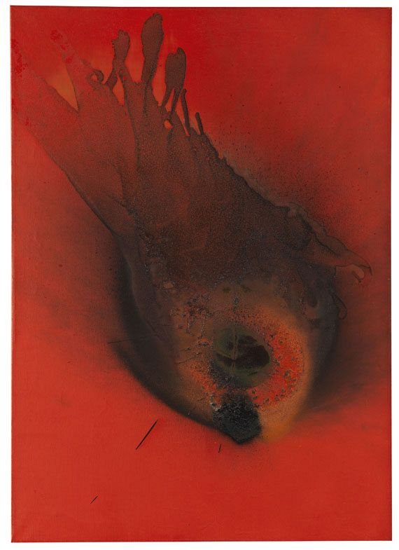 Otto Piene - Flower flies