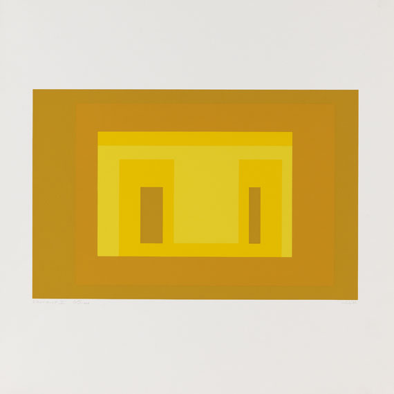 Josef Albers - Ten Variants