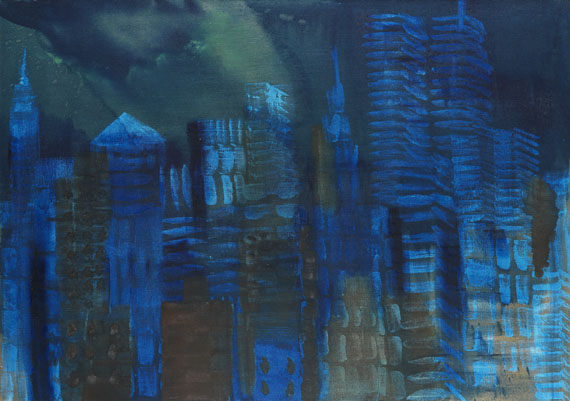 Rainer Fetting - N.Y. night