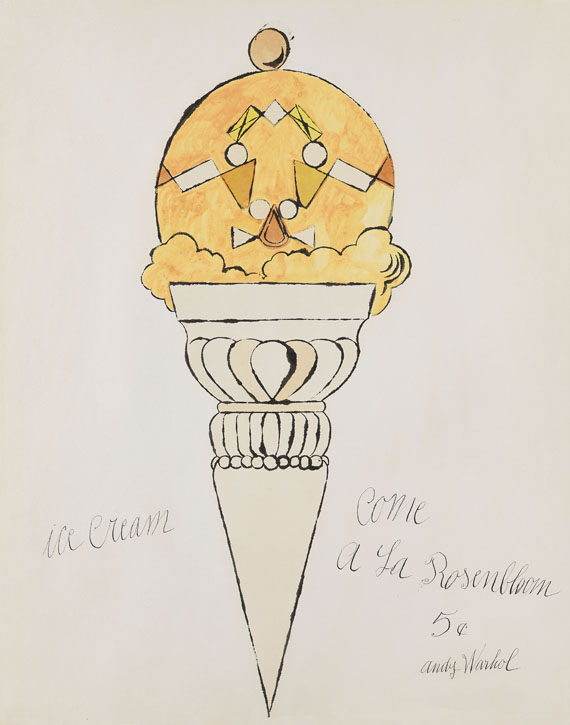 Andy Warhol - Ice Cream Cone