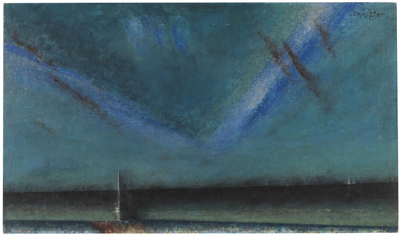 Lyonel Feininger - The Baltic (V-Cloud)
