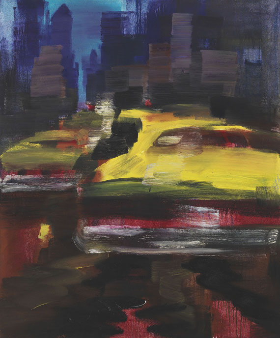 Rainer Fetting - Taxis