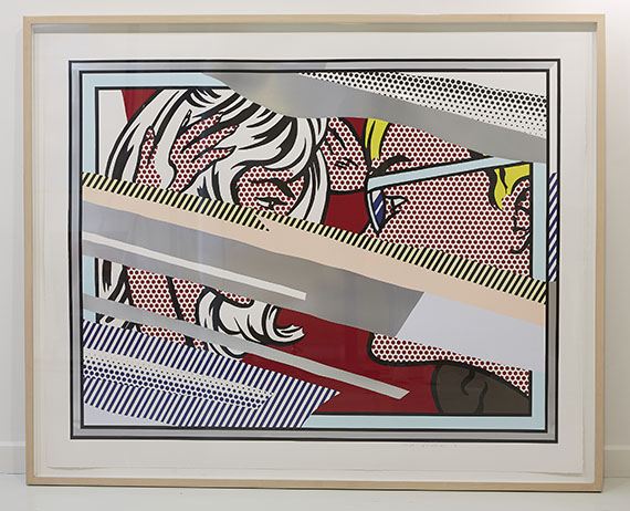 Roy Lichtenstein - Reflections on Conversation - Rahmenbild