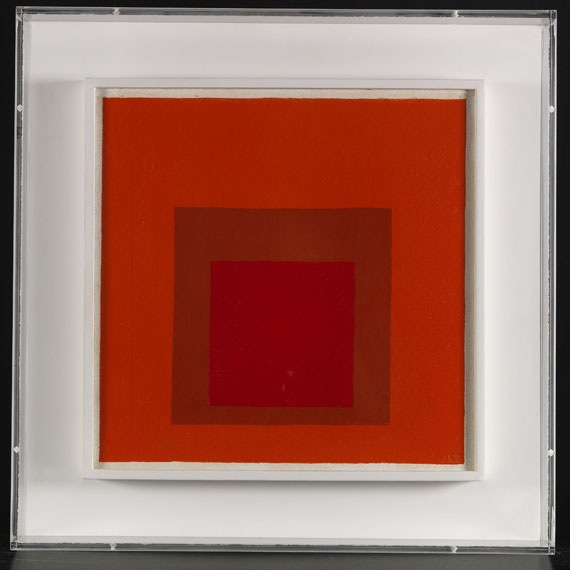 Josef Albers - Study for Homage to the Square - Rahmenbild