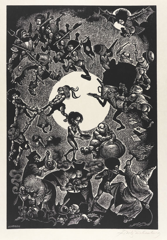 Fritz Eichenberg - In Praise of Folly