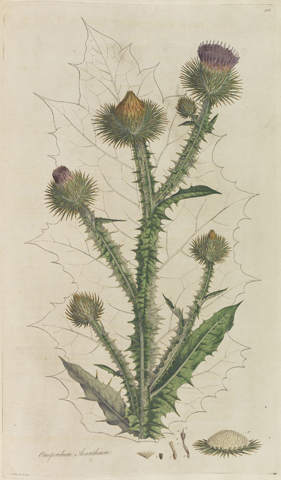 William Curtis - Flora Londinensis. 8 Bde. 1775