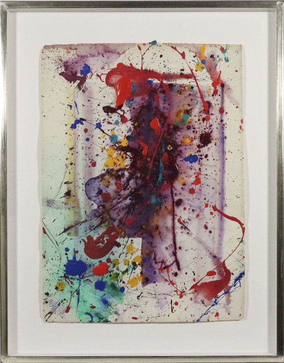 Sam Francis - Untitled (SF 90-304) - Rahmenbild