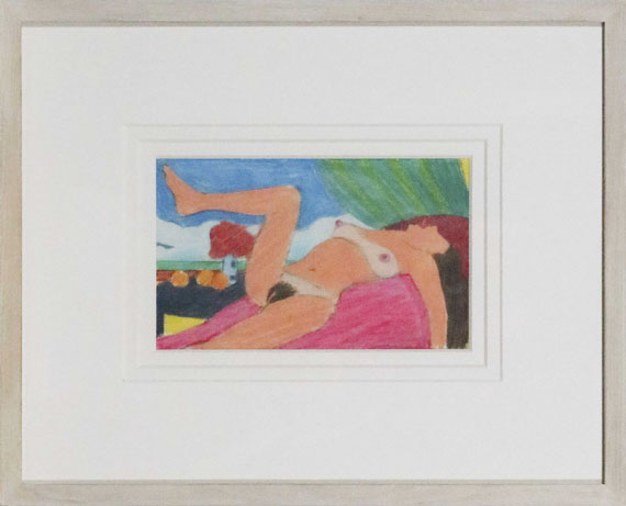Tom Wesselmann - Study for Great American Nude #92 - Rahmenbild