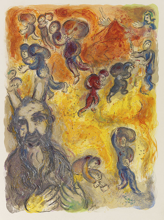 Marc Chagall - The Story of the Exodus