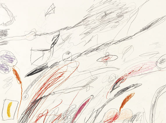 Cy Twombly - Untitled (Notes from a Tower) - Weitere Abbildung