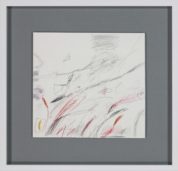 Cy Twombly - Untitled (Notes from a Tower) - Rahmenbild