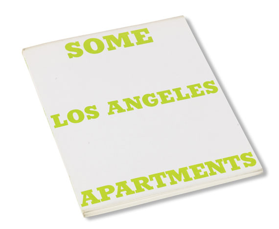 Edward Ruscha - Some Los Angeles apartments - Weitere Abbildung