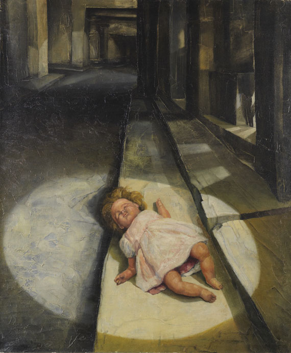 Bikash Bhattacharjee - Doll in the Lane