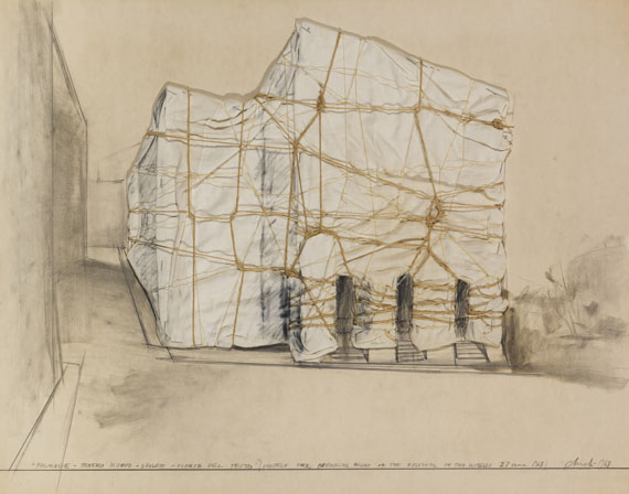 Package Teatro Nuovo Spoleto Pianta del Tetto (Project for opening..., 1968