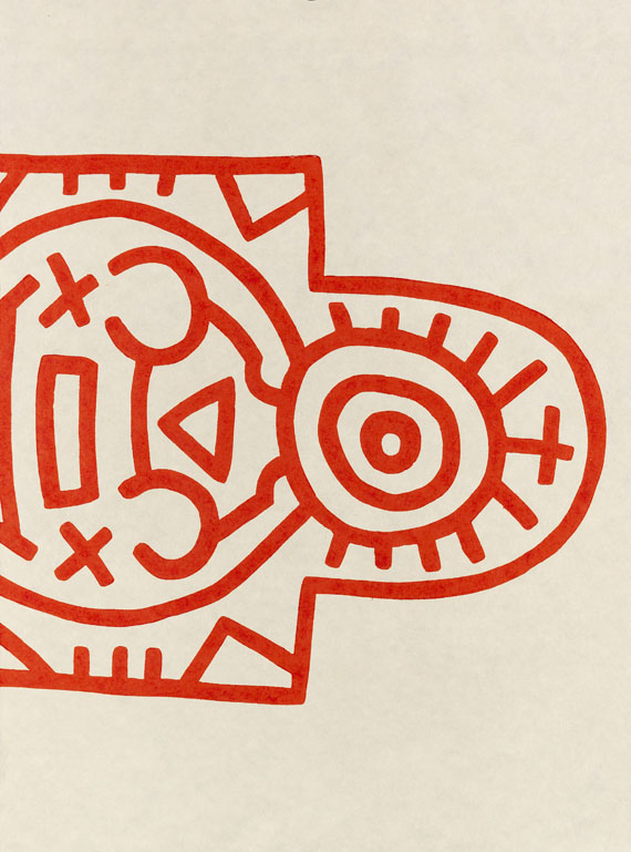 Keith Haring - Totem (3-teilig) - Weitere Abbildung