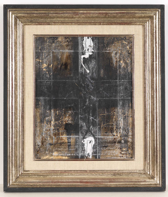 Antoni Tàpies - Paper with two marks - Rahmenbild